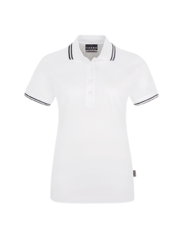 Woman-Poloshirt Twin-Stripe
