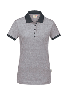 Woman Poloshirt Bird's Eye