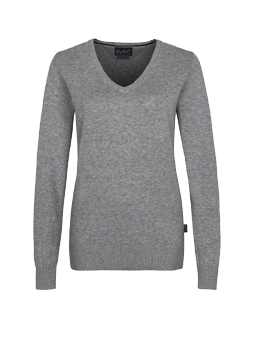 Damen-V-Pullover Premium-Cotton