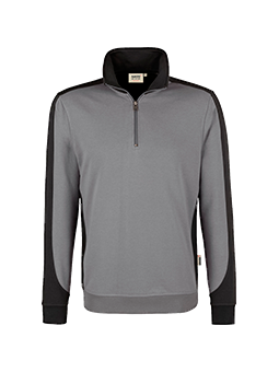 Zip-Sweatshirt Contrast Performancee